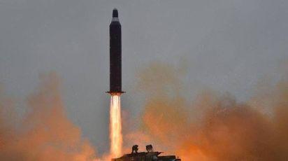 Nuovo test balistico nordcoreano (Ansa)