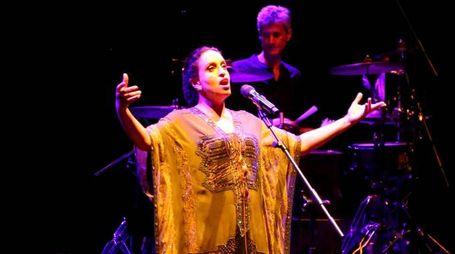 La cantante israeliana Noa (foto Ravaglia)