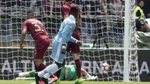 Roma-Lazio, Keita in gol (Ansa)