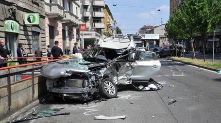 Incidente mortale in viale Monza a Milano (Newpress)