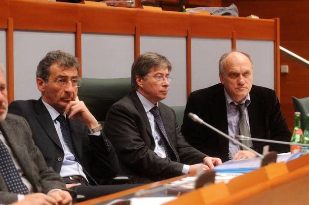 Con l'ex sindaco di Bologna, Delbono (FotoSchicchi)