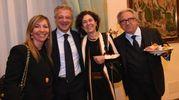 Marilena Pillati, Alessandro Bonfiglioli, Silvia Giannini e il notaio Federico Rossi (Schicchi)