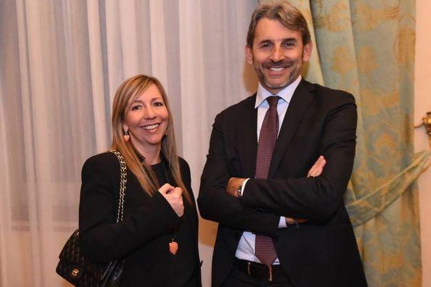 Marilena Pillati con Stefano Dallara (Schicchi)