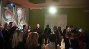 Gli ospiti si godono la magnifica cornice di Palazzo Belloni (Schicchi)