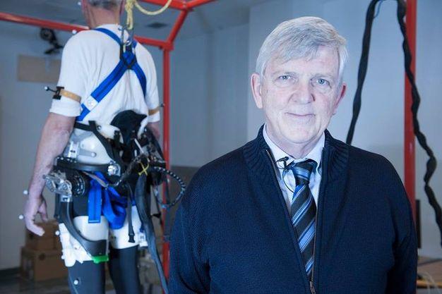 Raffaello Molino-Lova della Fondazione Don Carlo Gnocchi di firenze (foto Hillary Sanctuary / EPFL)