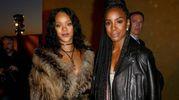 Rihanna e Kelly Rowland (Afp)