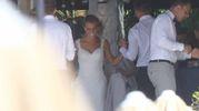 Scatti dal matrimonio (LaPresse)