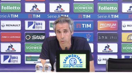 Paulo Sousa prima di Fiorentina-Lazio