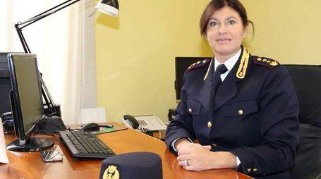 Il vicequestore aggiunto Mara Ferasin