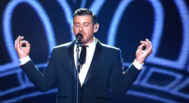 Francesco Gabbani all'Eurovision Song Contest