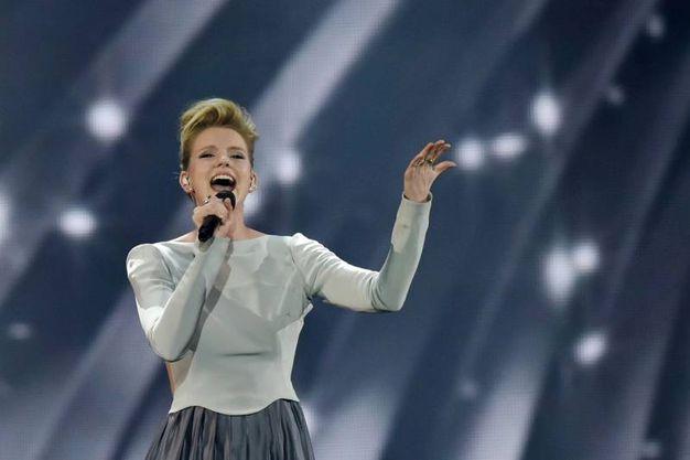Levina, rappresentante della Germania (Afp)