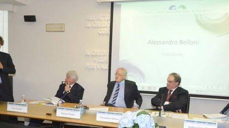 L'intervento dell'onorevole Edoardo Fanucci all'assemblea dei soci del Credito Valdinievole che si è tenuta venerdì pomeriggio