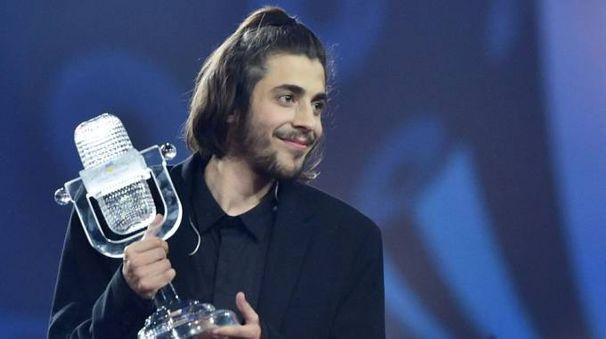 Eurovision, Salvator Sobral, il vincitore portoghese (Afp)