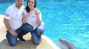 Marta mostra l'anello