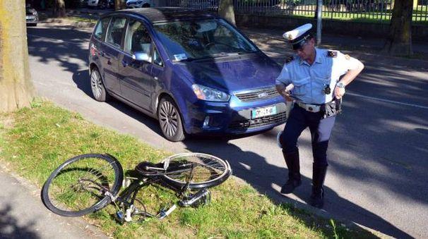 Incidente a Codogno, investito ciclista (Gazzola)