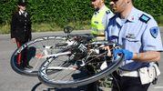 Rimini, la bici di Nicky Hayden dopo l'incidente (Foto Migliorini)