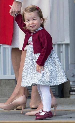 La principessa Charlotte, damigella di zia Pippa (Lapresse)