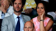 Pippa e James a Wimbledon (Lapresse)