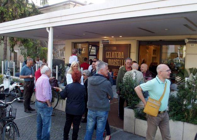 La festa per l'anniversario a Rimini (foto Pasquale Bove)