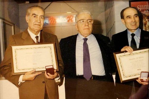 Molti i riconoscimenti ricevuti nel corso degli anni (foto Pasquale Bove)