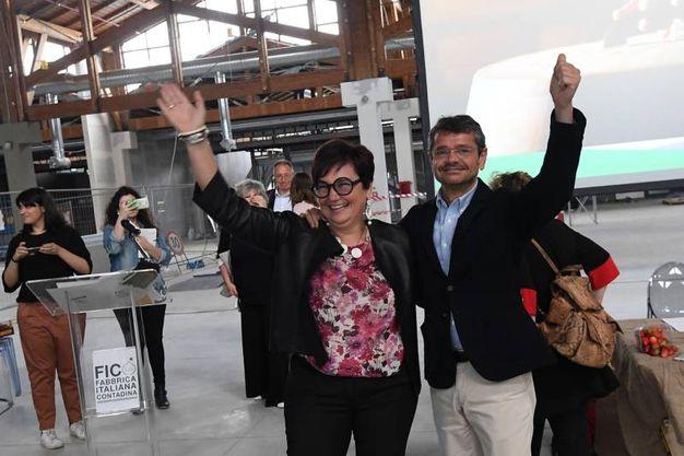 Tiziana Primori e Andrea Segrè (Schicchi)