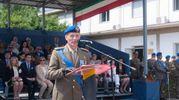 Il reggimento è stato inisgnito del Nettuno d'oro, importante onorificenza bolognese (foto Schicchi)