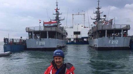 Trasferimento in Iraq delle due corvette (foto Frascatore)