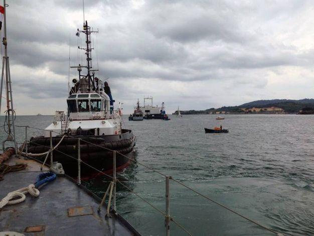 Le corvette irachene Mussa Ben Nassair (F210) e Tariq Ibn Ziad (F212) ormeggiate alla Spezia da 26 anni tornano in patria (foto Frascatore)