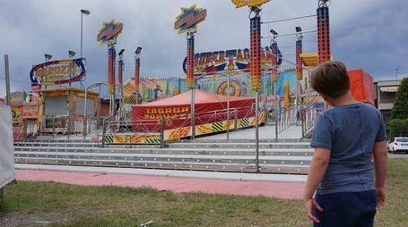 L'aggressione un anno fa al Luna Park di Agliana