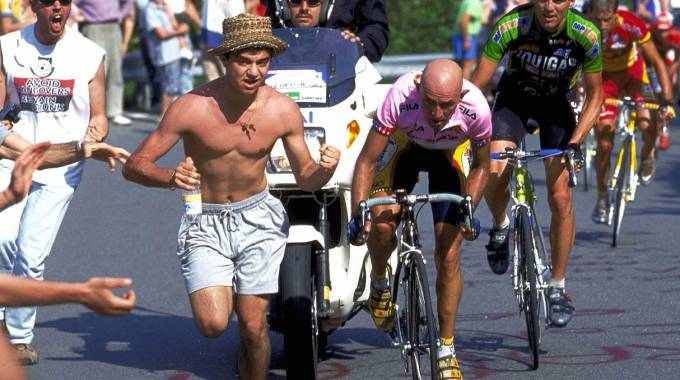L'impresa di Marco Pantani a Oropa
