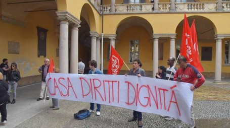 La protesta in università (Torres)