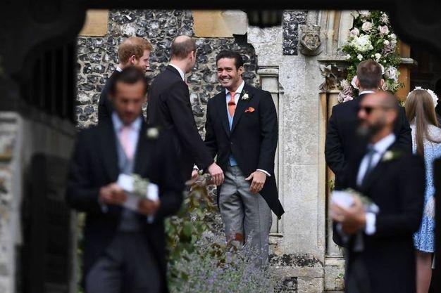 Spences Matthews, il fratello dello sposo (Afp)