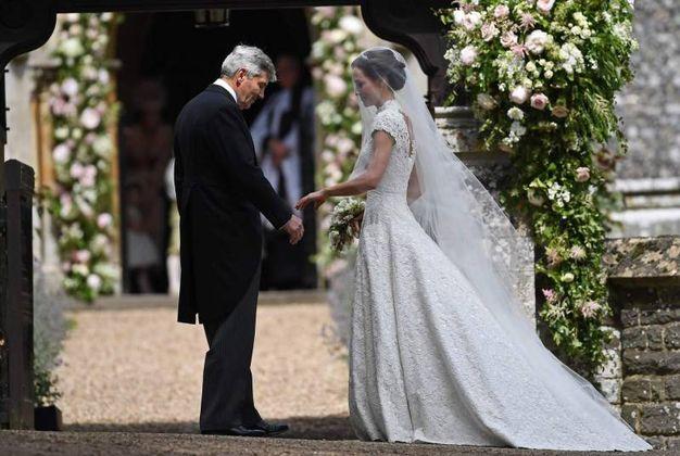 La sposa (Afp)