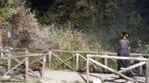 Incendio a Portonovo, l'allarme è scattato anche grazie ad alcuni passanti (foto Bignami)