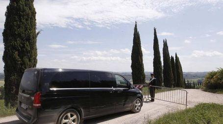 L'auto su cui viaggiano gli Obama