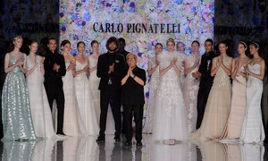 La sfilata degli abiti da sposa 2018 di Carlo Pignatelli