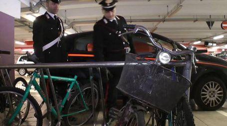 Alcune delle bici rubate (Canali)