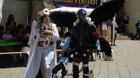 Volterra invasa dai personaggi del Mistery and Fantasy