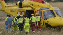 Il corpo dell'escursionista è stato recuperato e portato a Massa dal Pegaso del 118