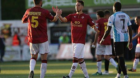 Borghese e Gonnelli si danno il '5' a fine partita