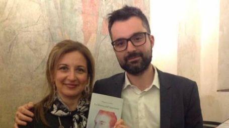 """Roberto Cecchetti autore de """"La Metrica dell'Apparenza"""" e Monica Attucci"""