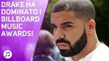 Drake fa un nuovo record ai Billboard Music Awards!