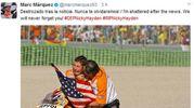 Nicky Hayden morto, il tweet di Marc Marquez (Ansa)