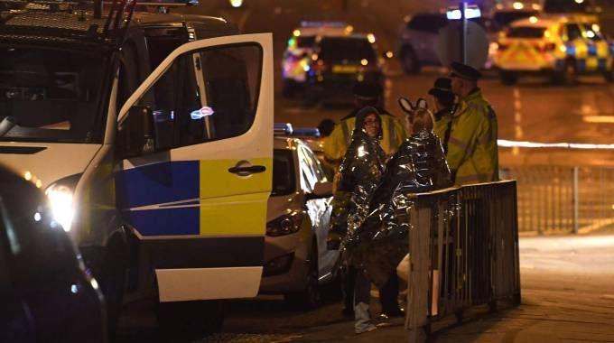 Manchester, attentato al concerto di Ariana Grande (Afp)