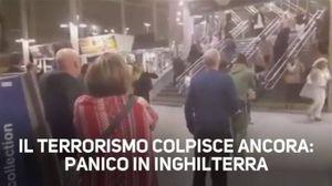 Attacco a Manchester: il momento dell'esplosione