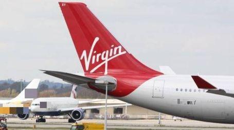 Un aereo Virgin (Olycom)