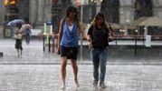 Allerta meteo in Emilia Romagna, in arrivo temporali e vento forte (Foto Newpress)