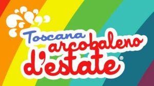 Il logo di Toscana Arcobaleno d'Estate