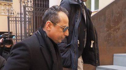 Stefano Salvati, ex manager di Vasco Rossi, condannato a 2 anni (foto Ansa)