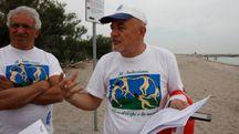 Jean Pascal Marcacci, presidente del Festival Naturista, alla Bassona  (Foto Corelli)